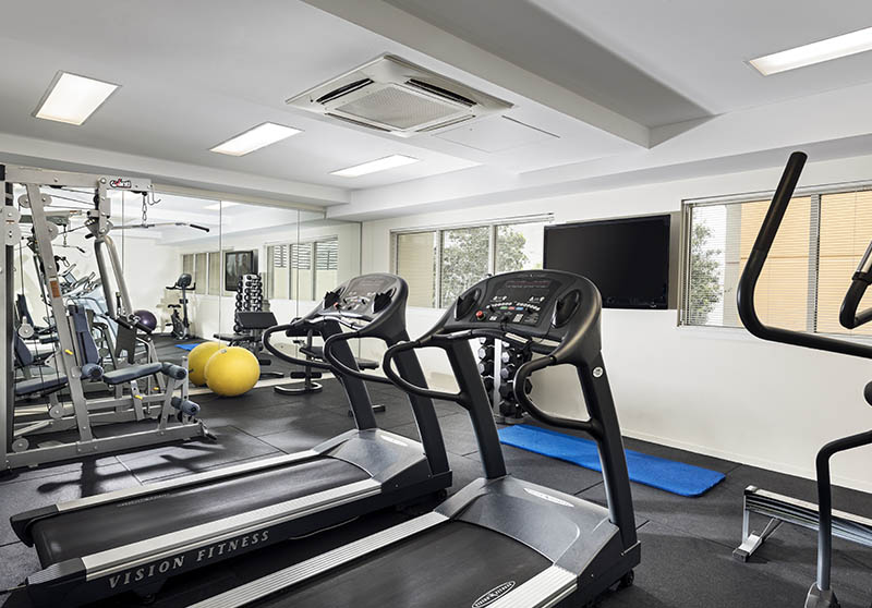 Grand Hotel and Apartments Townsville - Hotel Gymnasium